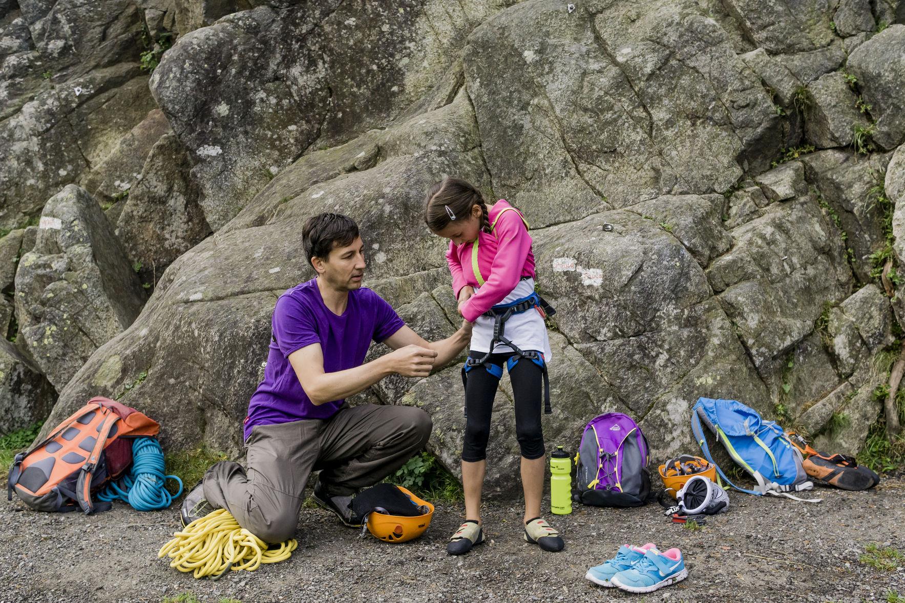 Klettern mit Kindern   Climbers Paradise