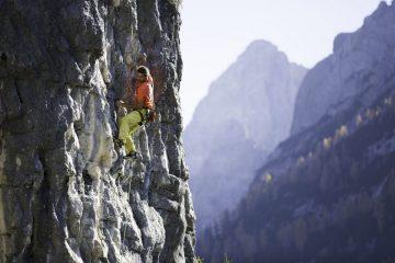 Technisch anspruchsvolle Route bei der Dolomitenhütte, Foto: Tirol Werbung, Johannes Mair | Climbers Paradise