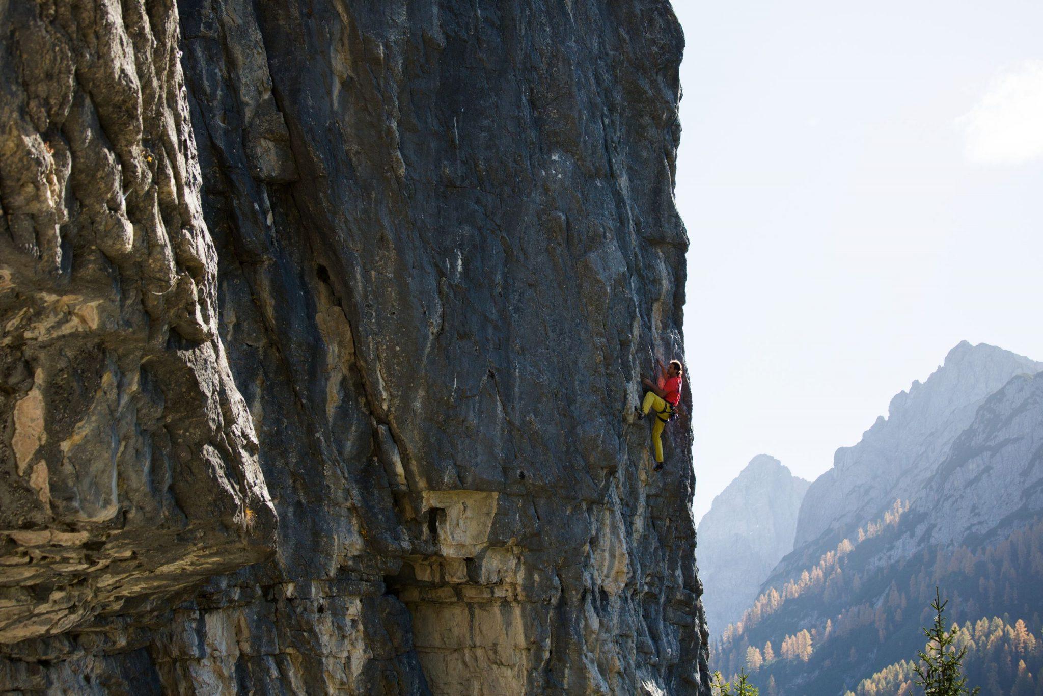 Routen mit Schwierigkeitsgrad 5-8 bei der Dolomitenhütte, Foto: Tirol Werbung, Johannes Mair | Climbers Paradise