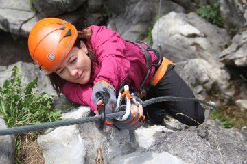 Unterwegs auf dem Klettersteig, Foto: SAAC | Climbers Paradise