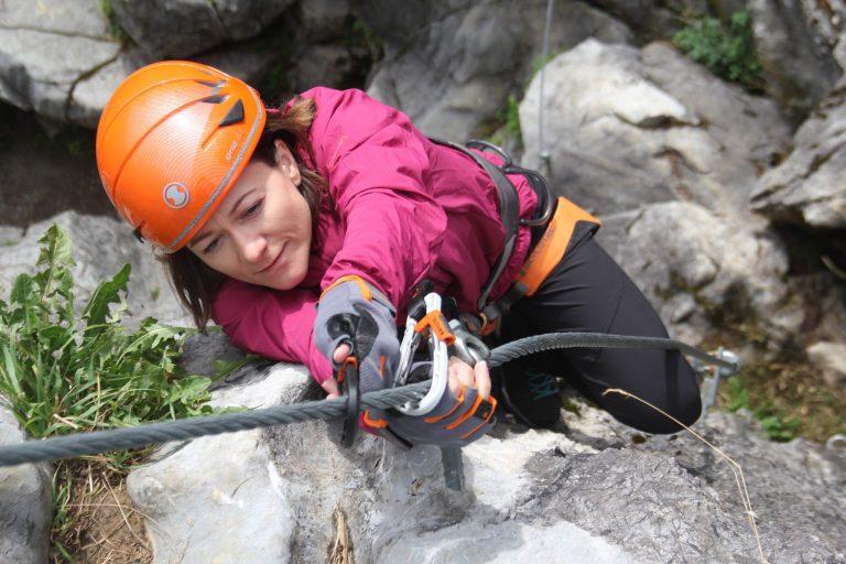 Unterwegs auf dem Klettersteig, Foto: SAAC   Climbers Paradise