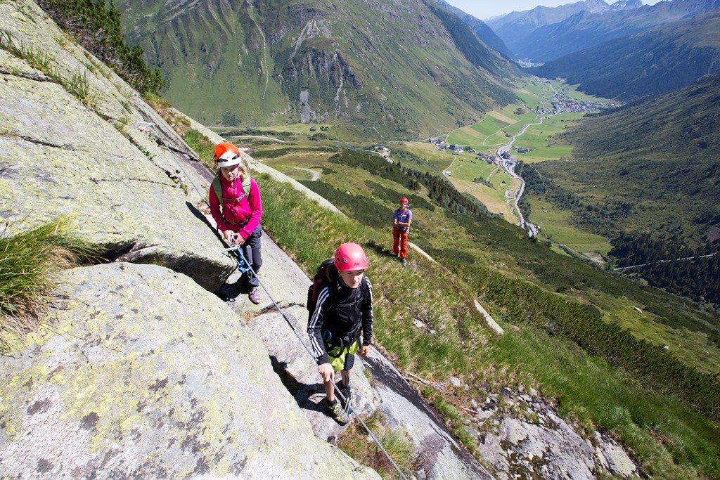 Klettersteig Little Ballun in Galtür | Climbers Paradise