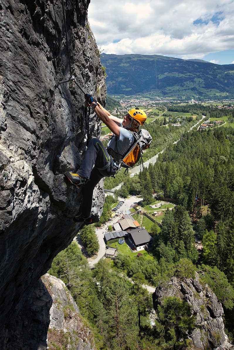 Klettersteig Dopamin in Osttirol, Foto: Martin Lugger | Climbers Paradise