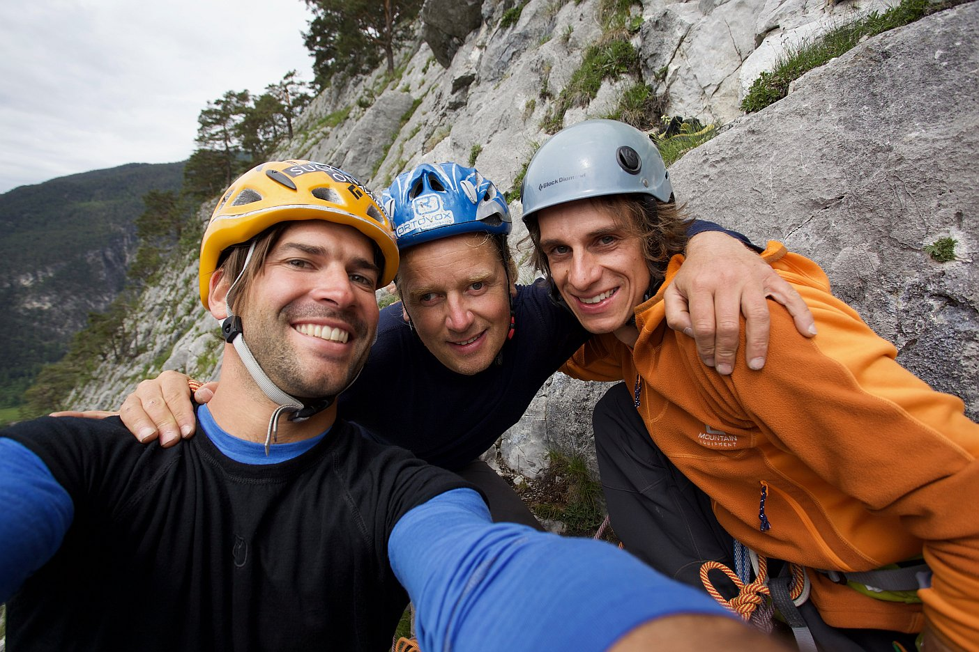 Gipfelfoto mit Andy Holzer