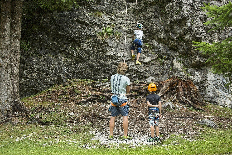Kinderklettern bei den ROCKdays, Foto: Defrancesco | Climbers Paradise