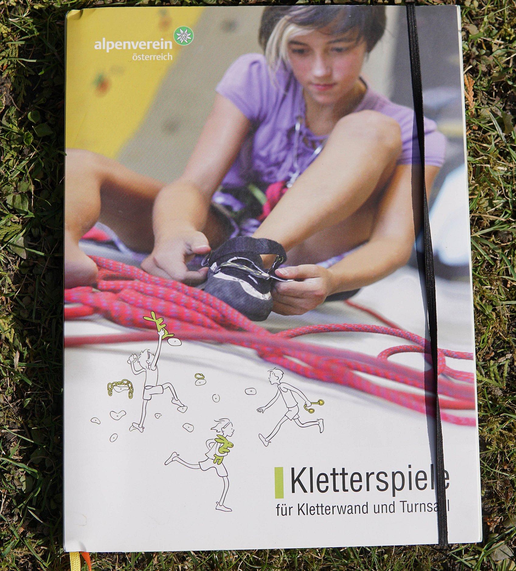 """""""Kletterspiele"""", das Buch vom Österreichischer Alpenverein"""