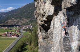 Klettersteig Burgsteinwand, Foto: Günther Durner | Climbers Paradise
