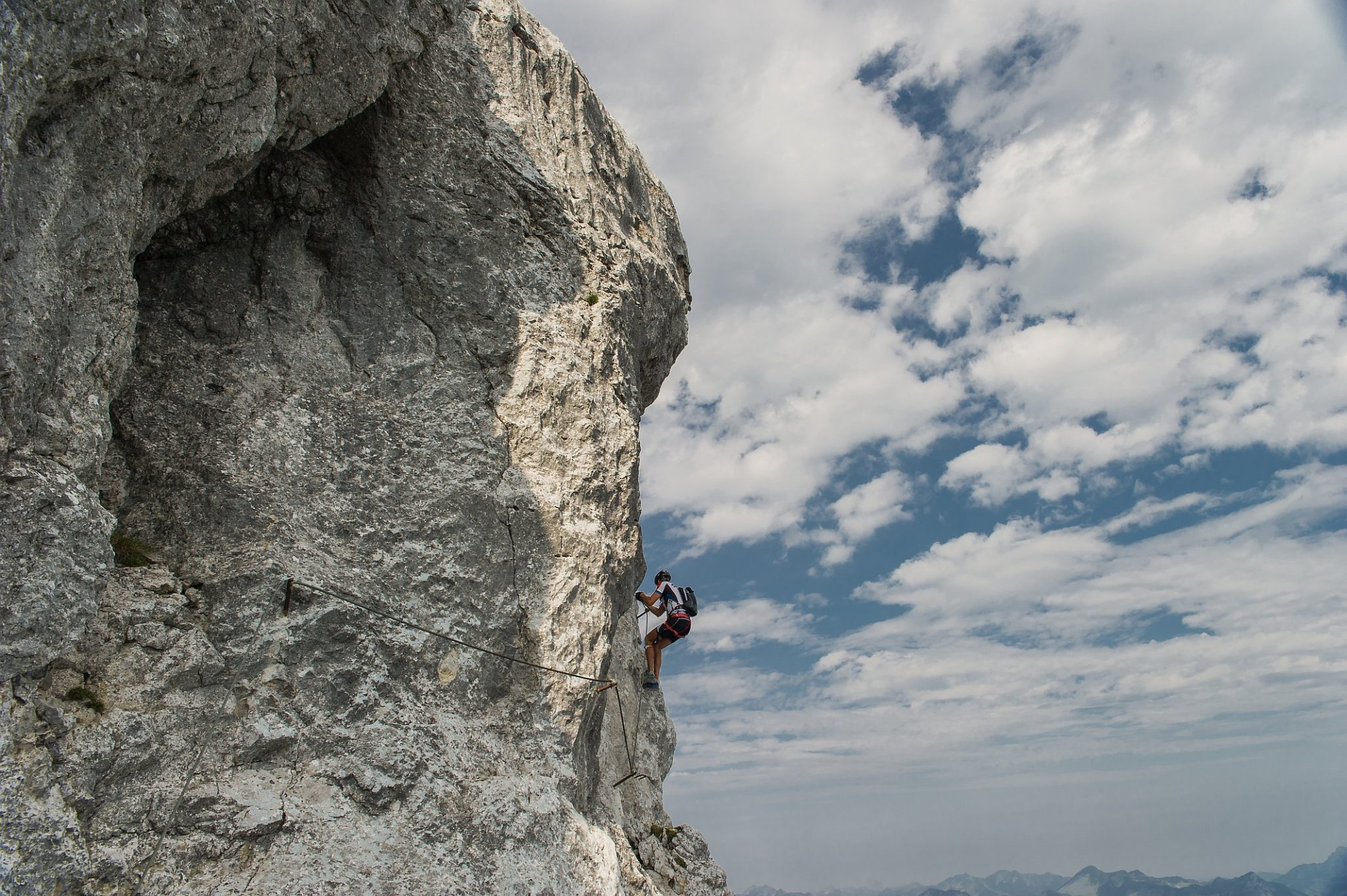 Klettersteig Längenfeld : Schiestl klettersteig