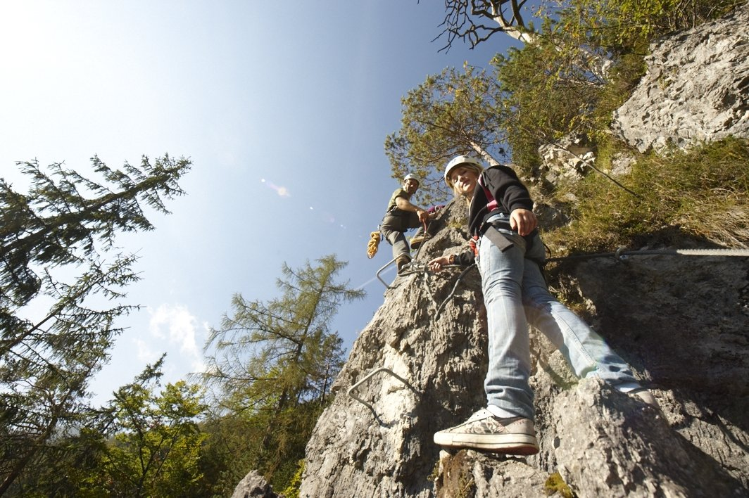 Klettersteig St. Adolari in St. Ulrich am Pillersee | Climbers Paradise