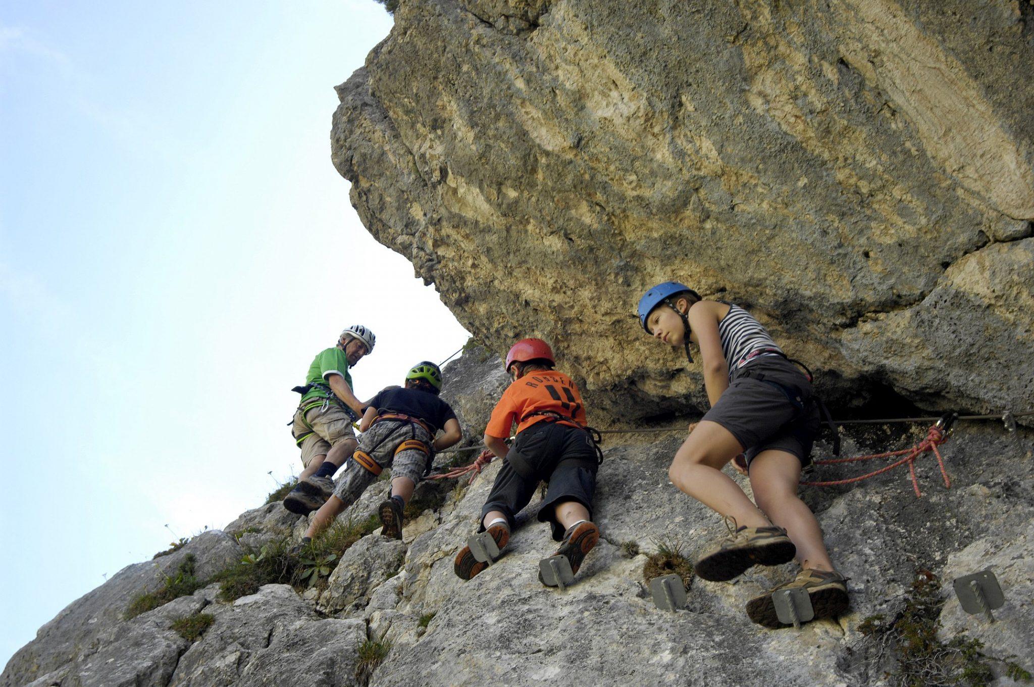 Klettersteig im Rofan, Foto: Sepp Rettenbacher | Climbers Paradise