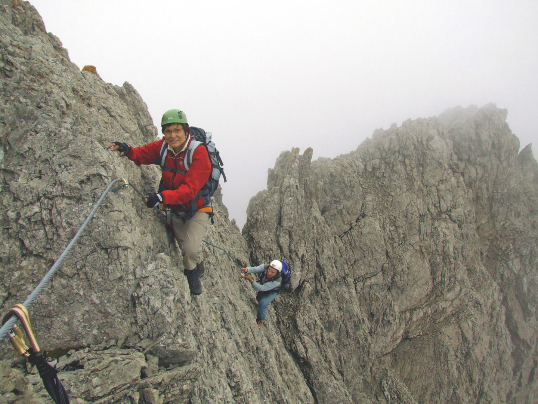 Klettersteig Seekofel, Foto: Grafik Zloebl | Climbers Paradise