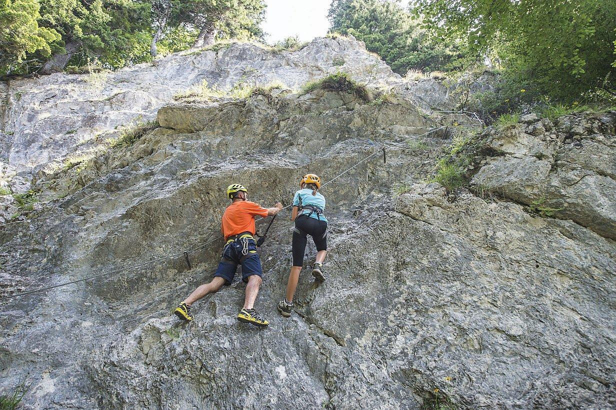 Klettersteig am Wilden Kaiser, Foto: Peter von Felbert | Climbers Paradise