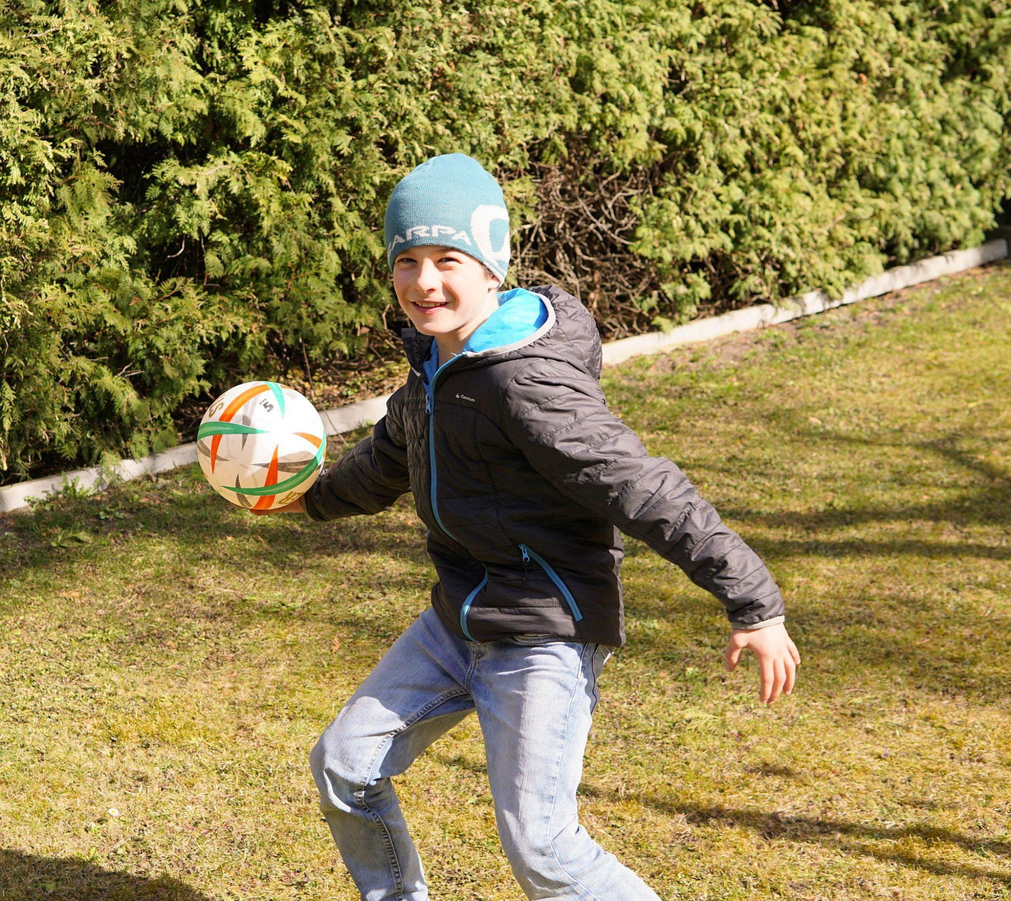 Das Kletterspiel Teamball