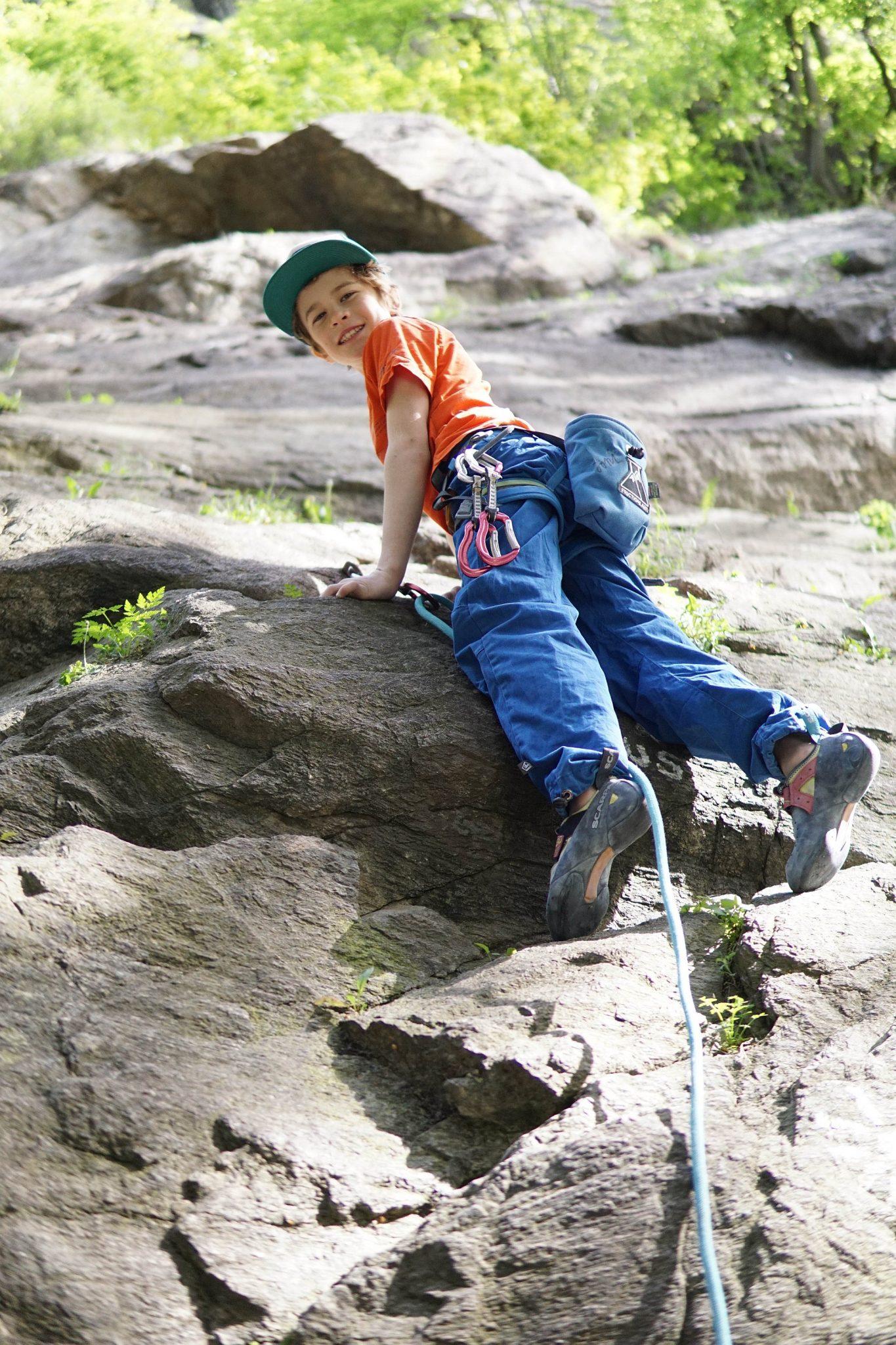 Kinderroute im Klettergarten Ötz, Foto: Matthias Bader | Climbers Paradise