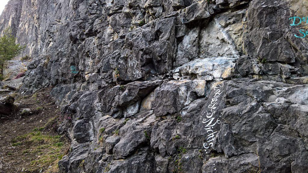 """Sektor """"Inunsien"""" im Klettergarten Starkenbach in der Ferienregion Tirol West bei Landeck"""