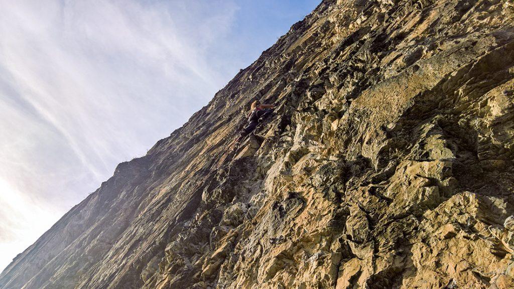 """Sektor """"im Reich der Schwalben"""" im Klettergarten Starkenbach in der Ferienregion Tirol West bei Landeck"""