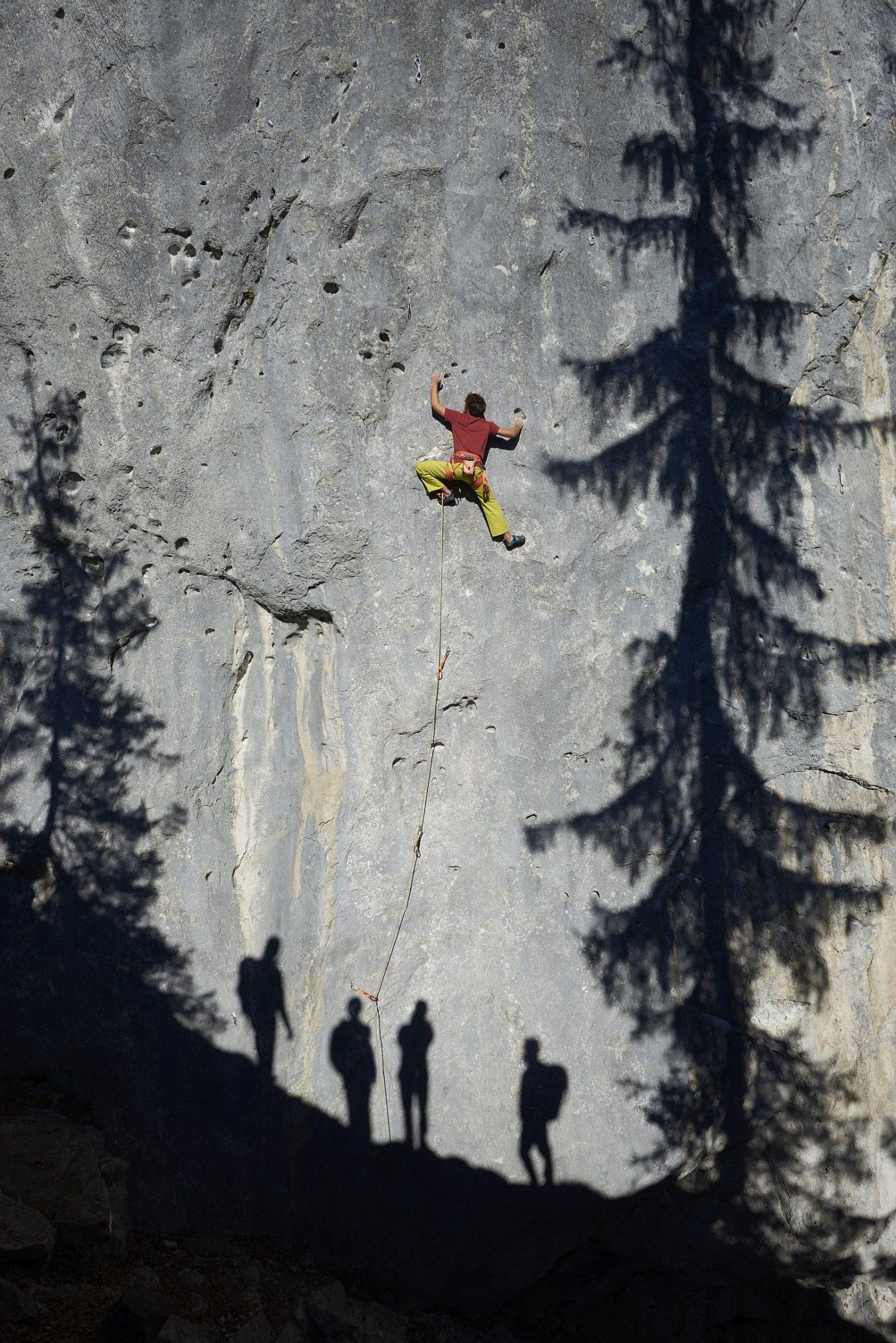 Die Kletterroute Number One im Klettergarten Schleierwasserfälle | Climbers Paradise