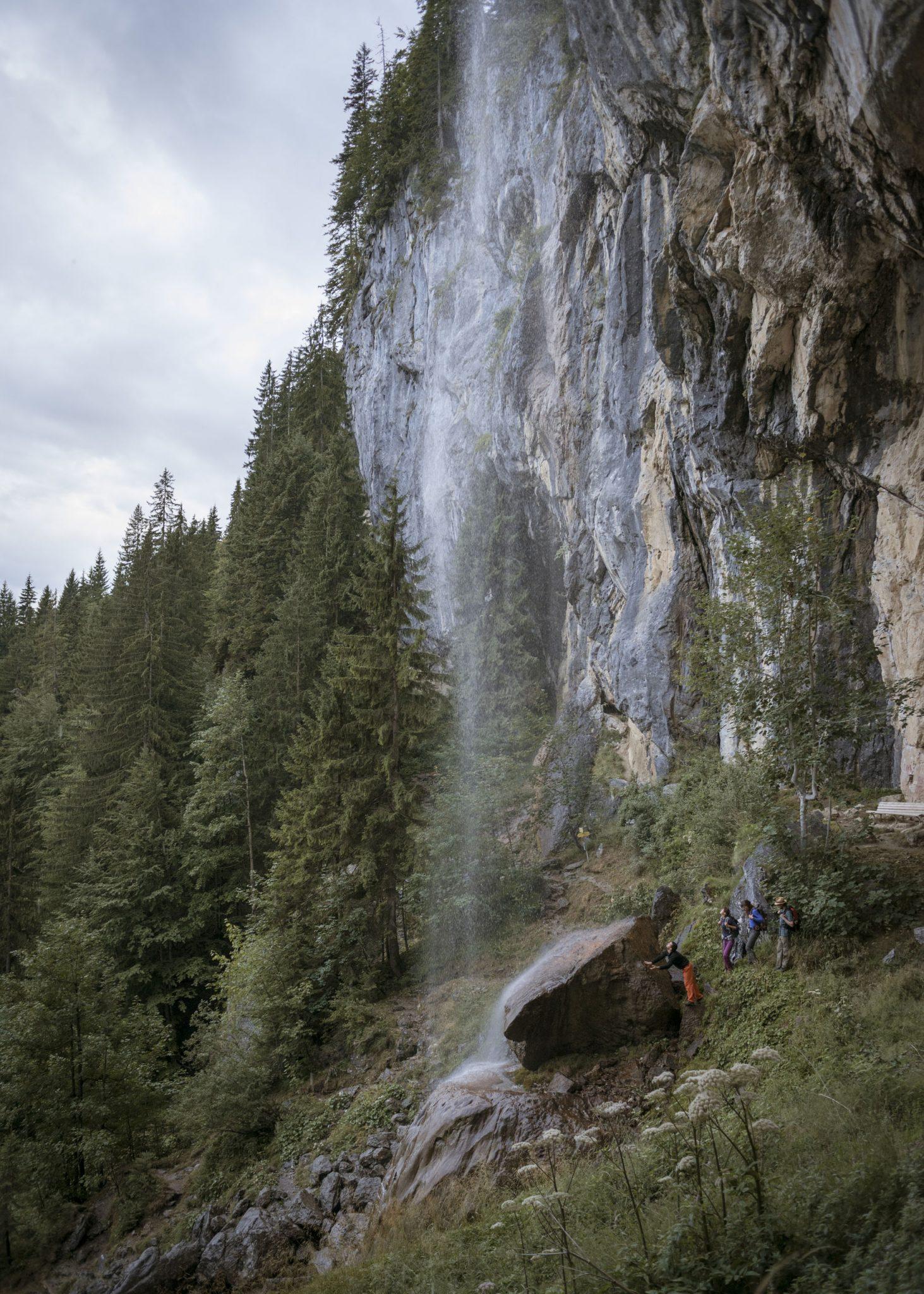 Der Klettergarten Schleierwasserfälle, Foto: Tirol Werbung, Jens Schwarz | Climbers Paradise