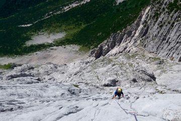 """Klettern an der Mieminger Kette, """"Marillensteig""""   Climbers Paradise"""