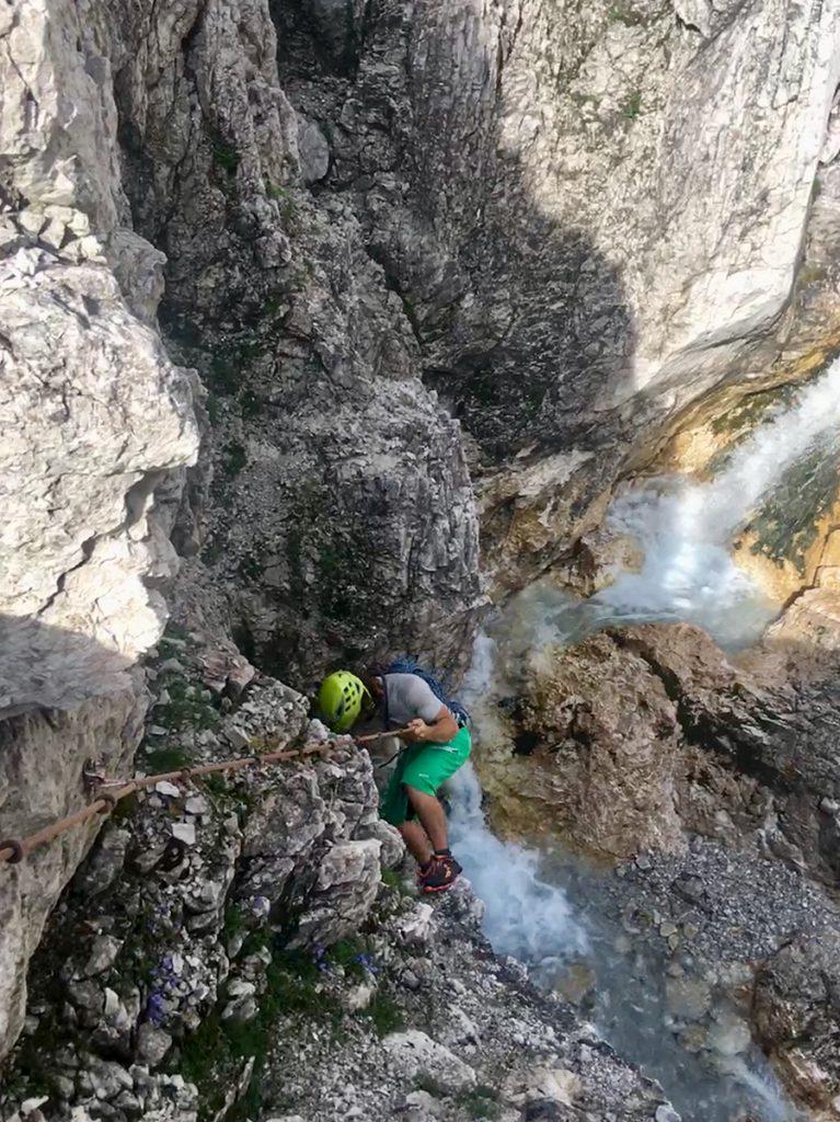 Klettern an der Mieminger Kette, Zustieg zum