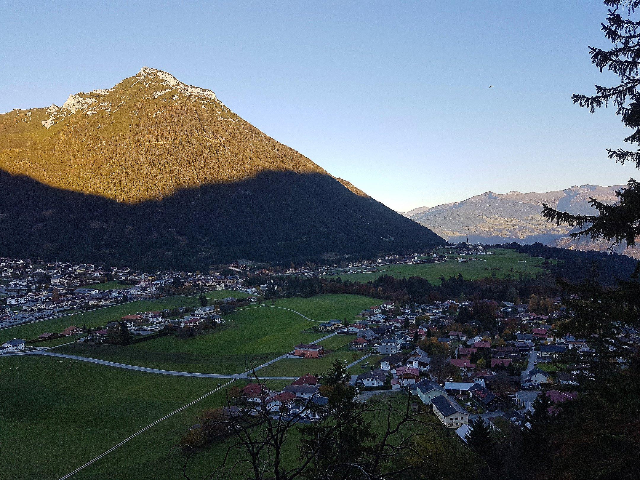 Aussicht vom Klettergarten Bärenkopf am Achensee