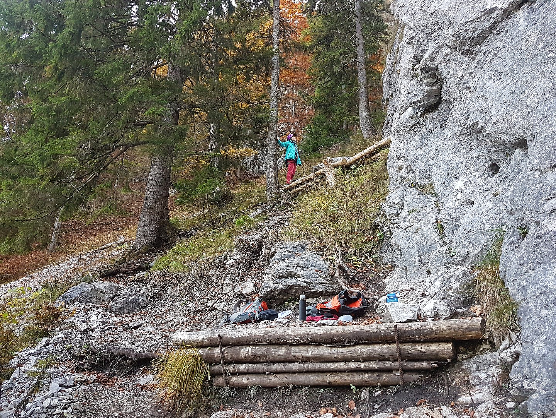 Weg zum oberen Sektor, Bärenkopf Achensee