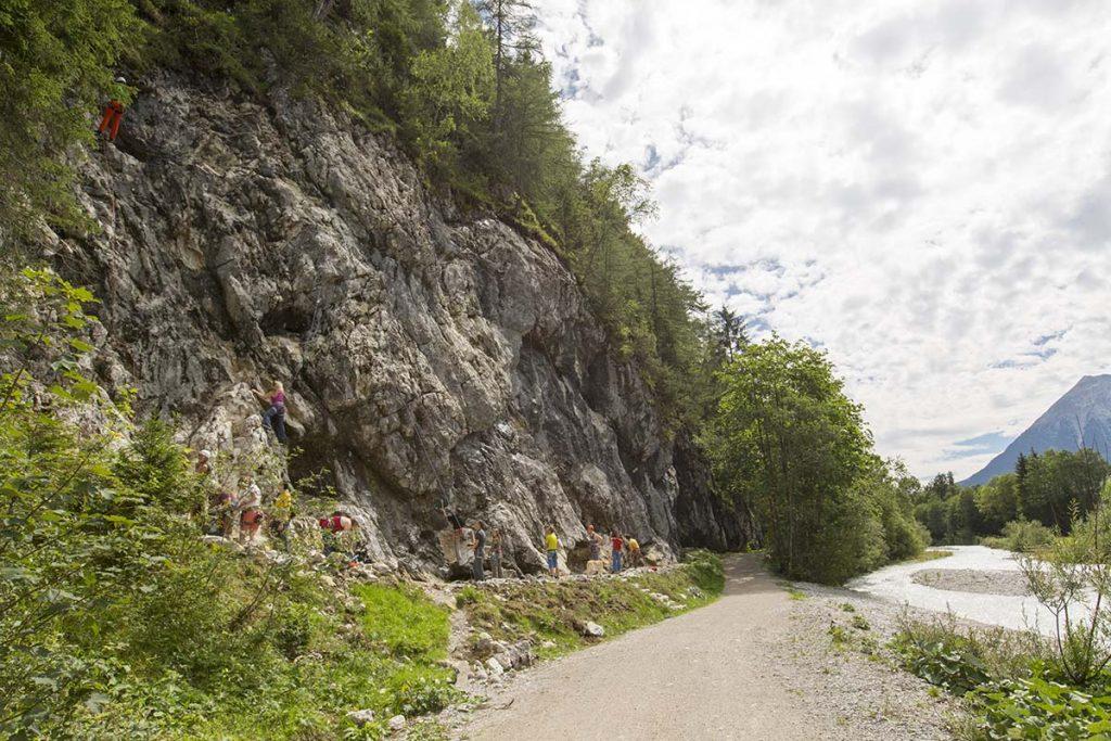Der Klettergarten Flämenwandl, Foto: Olympiaregion Seefeld, Mike Gabl | Climbers Paradise