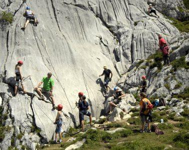 Der Klettergarten Grubastiege, Foto: Sepp Rettenbacher | Climbers Paradise