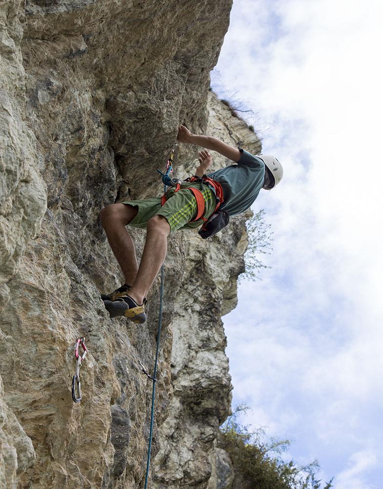 Klettergarten Prutz/Sauerbrunn, Foto: Mike Gabl | Climbers Paradise