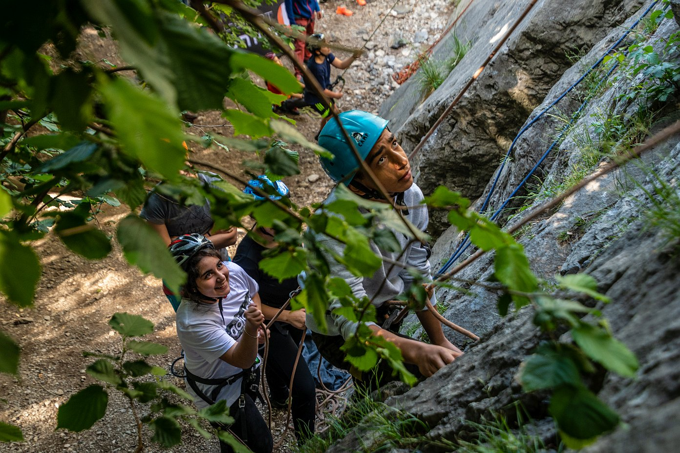 Klettern stärkt die Gemeinschaft, Foto: SPORTUNION Tirol | Climbers Paradise