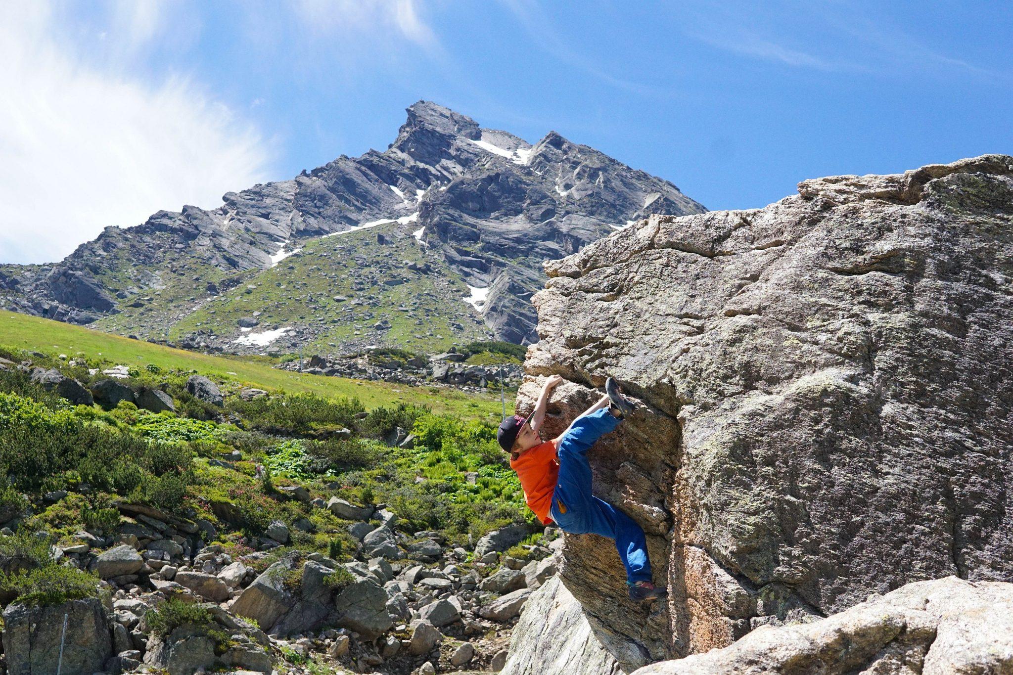 Die Ballunspitze mit dem Klettersteig im Hintergrund | Climbers Paradise