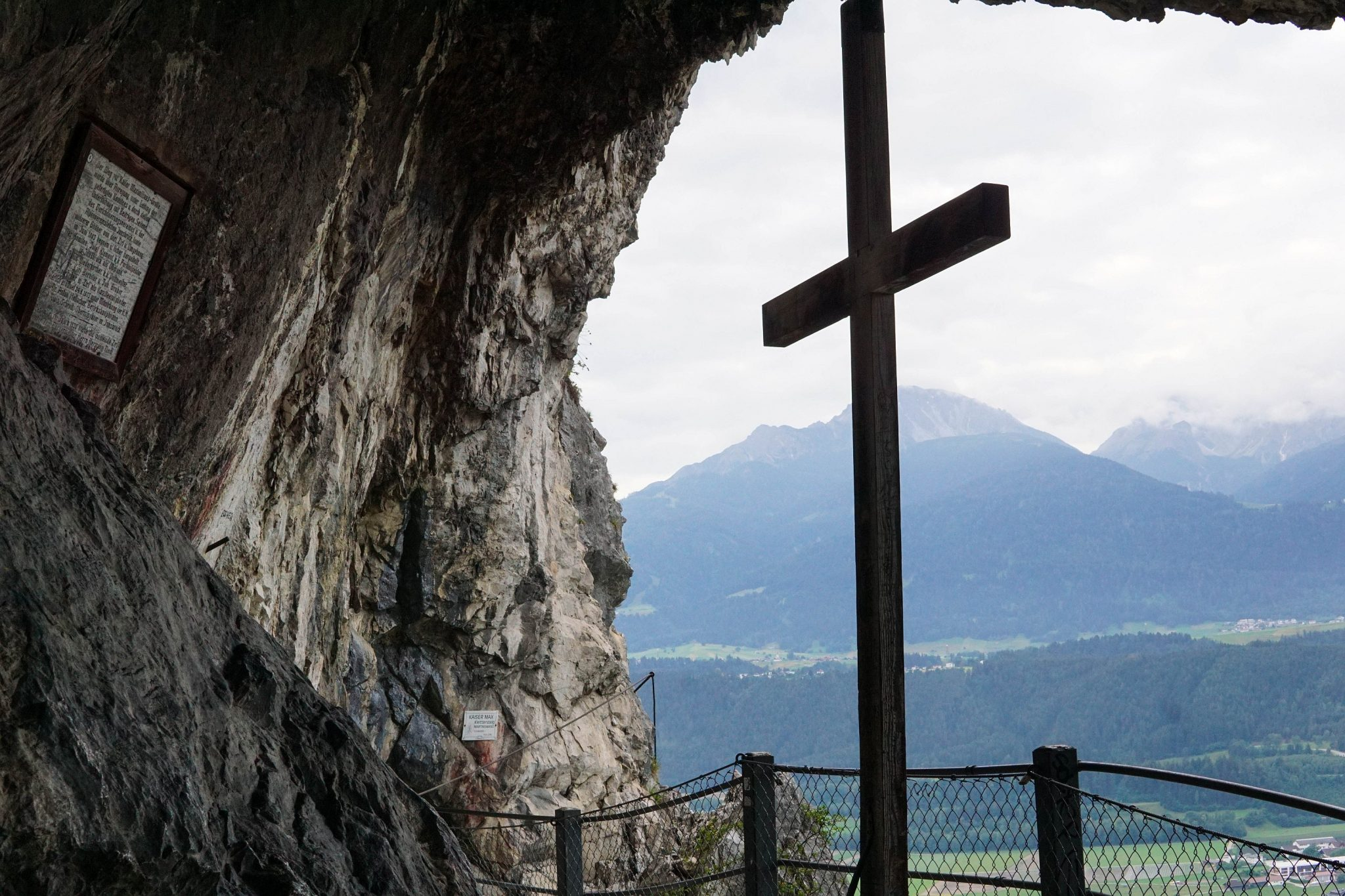 Blick von der Grotte beim Kaiser-Max-Klettersteig | Climbers Paradise