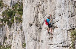Klettersteig Klamml in der Region Wilder Kaiser, Foto: Peter von Felbert | Climbers Paradise