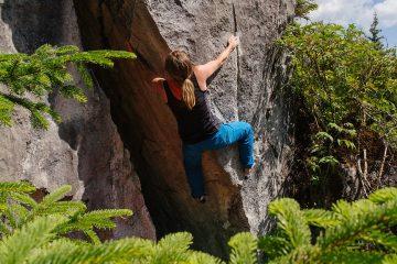 Bouldern in Hoch-Imst, Foto: Simon Schöpf | Climbers Paradise
