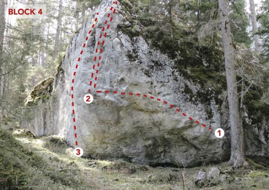 Topo Reithle im Bouldergebiet Hoch-Imst | Climbers Paradise