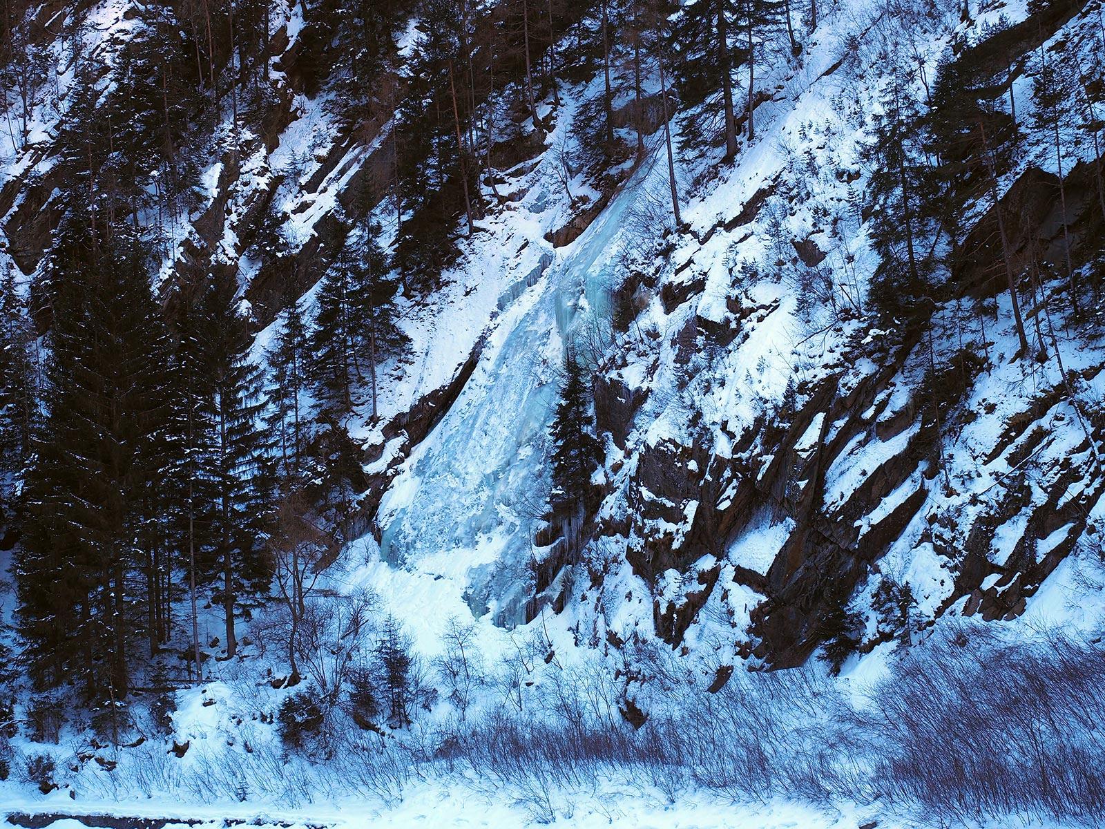 Eisklettern im Ötztal