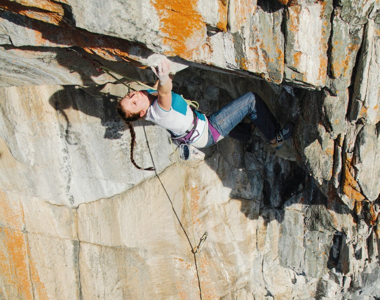 Katharina Bacher, Foto: Elias Holzknecht   Climbers Paradise