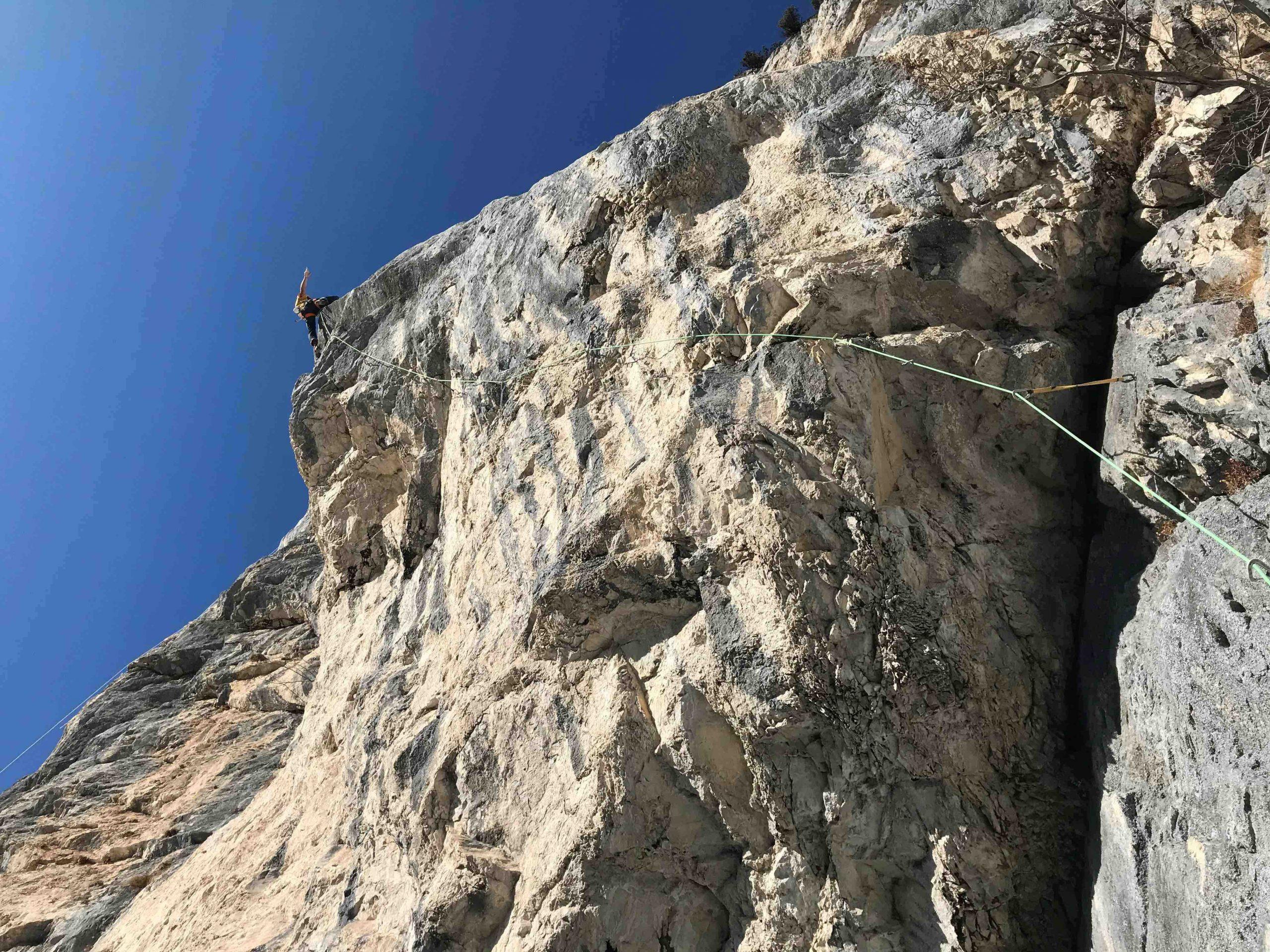 Wetterstein Chinesische Mauer, Foto: Thomas Wanner I Climbers Paradise