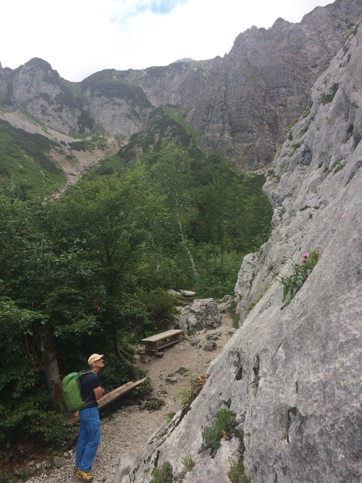 Der Murmeltierfelsen im Kaiserklettergarten in der Region Wilder Kaiser | Climbers Paradise