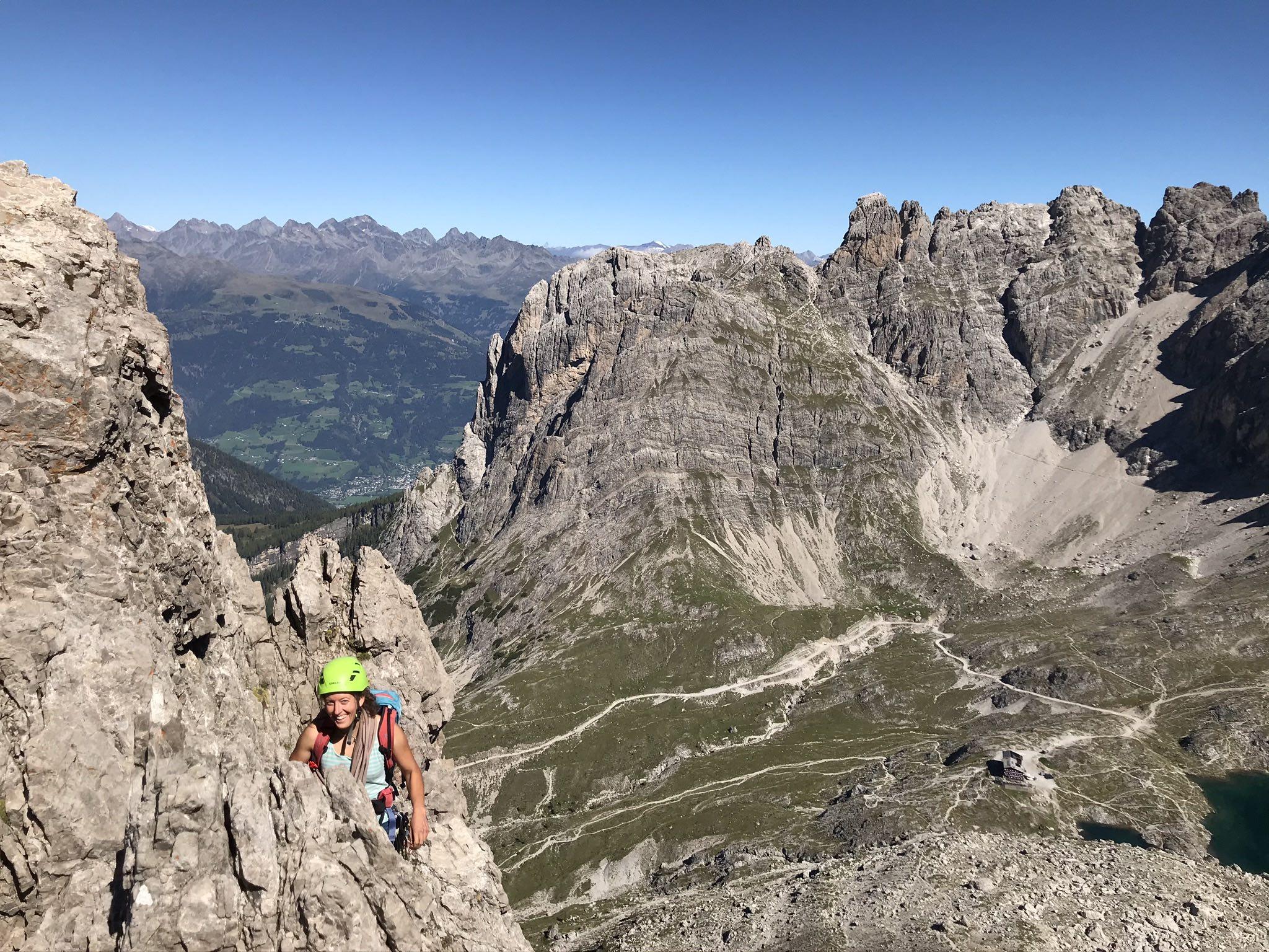 Alpinklettern Karlsbader Hütte, Foto: Thomas Wanner I Climbers Paradise