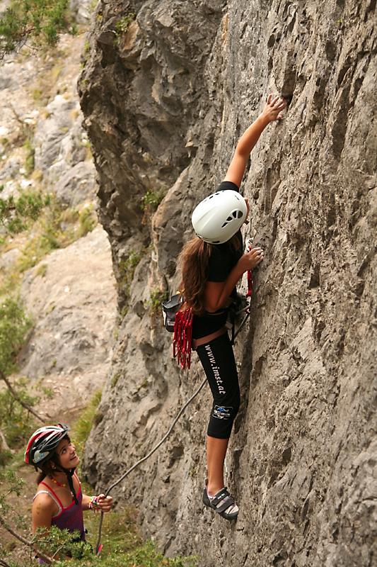 Klettern an der Roten Wand | Climbers Paradise