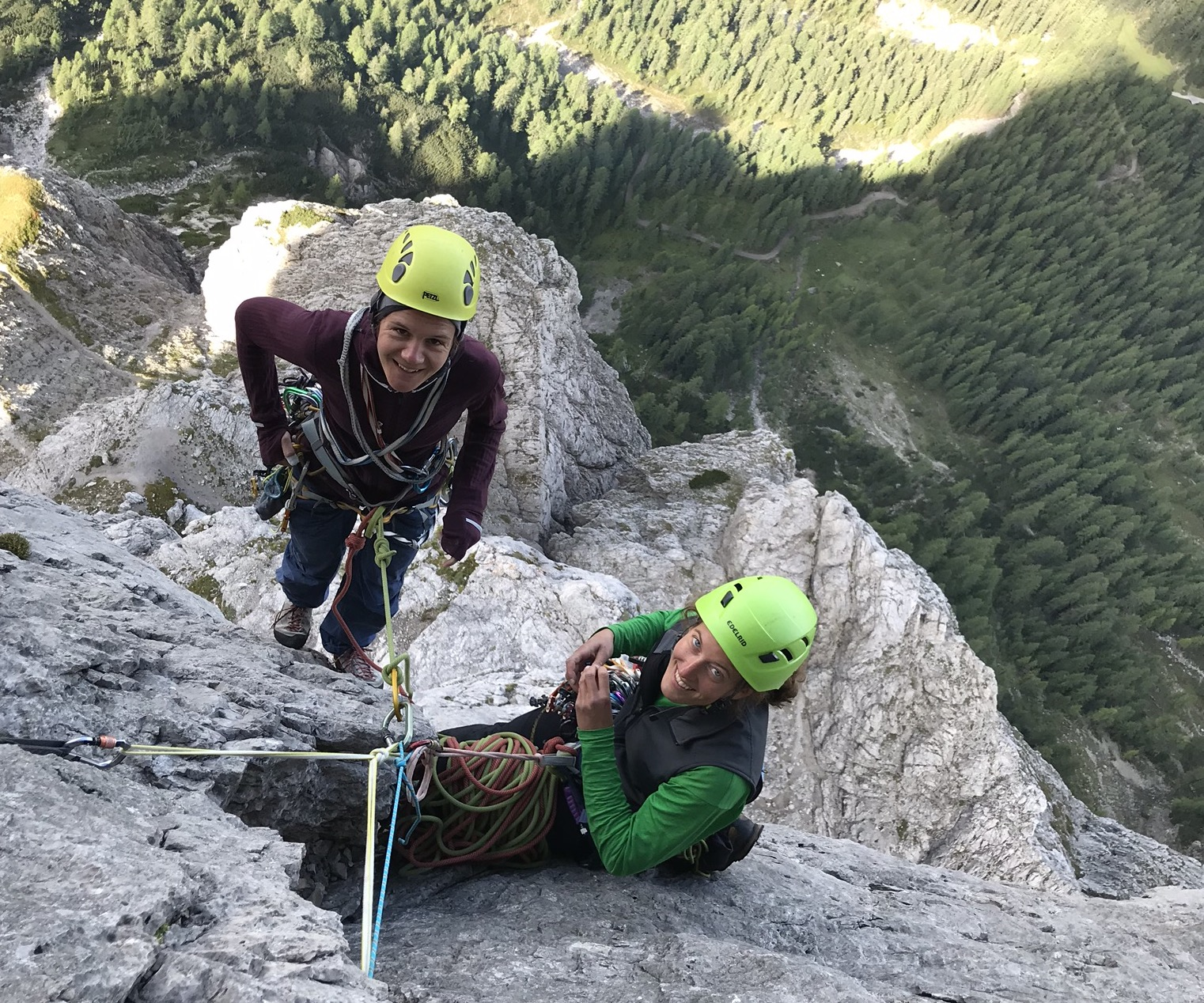 Alpinklettern, Kletterpartner, Foto: Thomas Wanner I Climbers Paradise