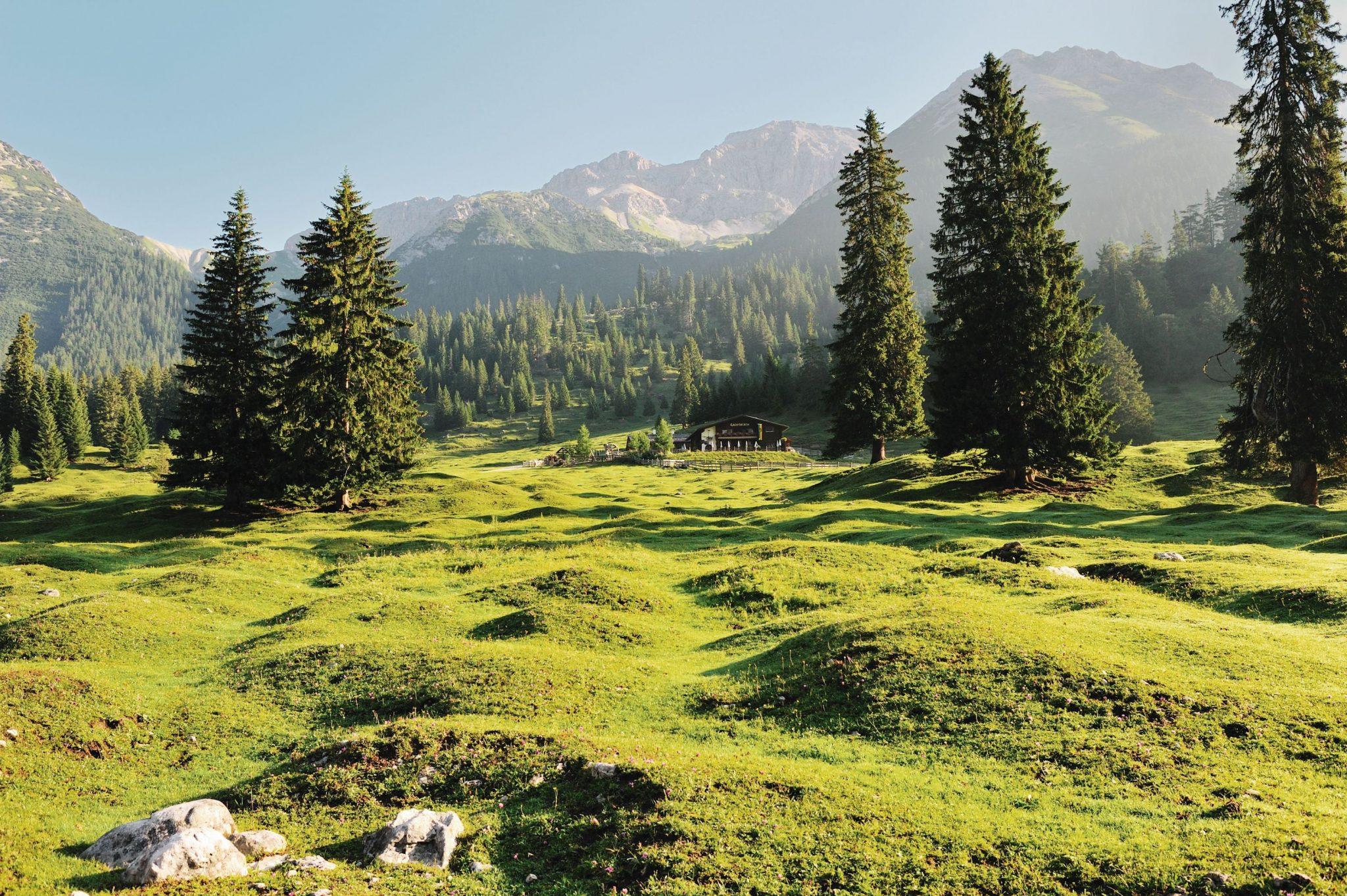 Das Almenparadies Gaistal, Foto: Olympiaregion Seefeld | Climbers Paradise