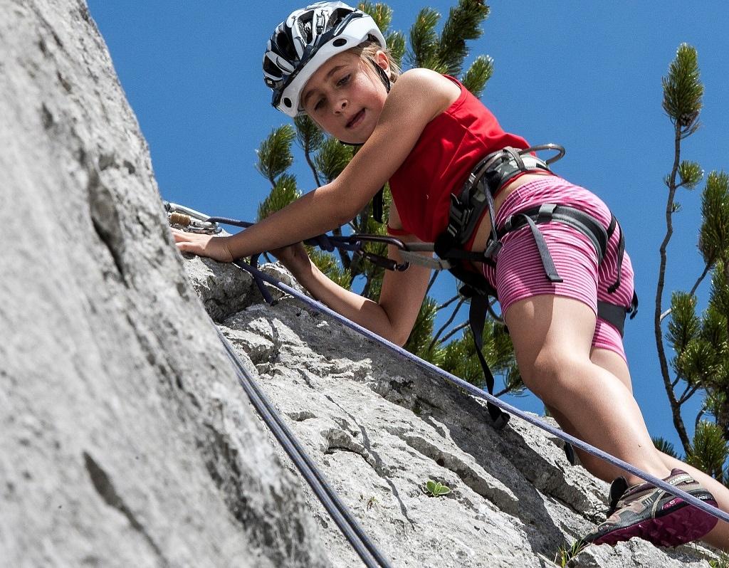In der Region Wilder Kaiser gibt es auch Kletterrouten für Kinder, Foto: TVB Wilder Kaiser | Climbers Paradise