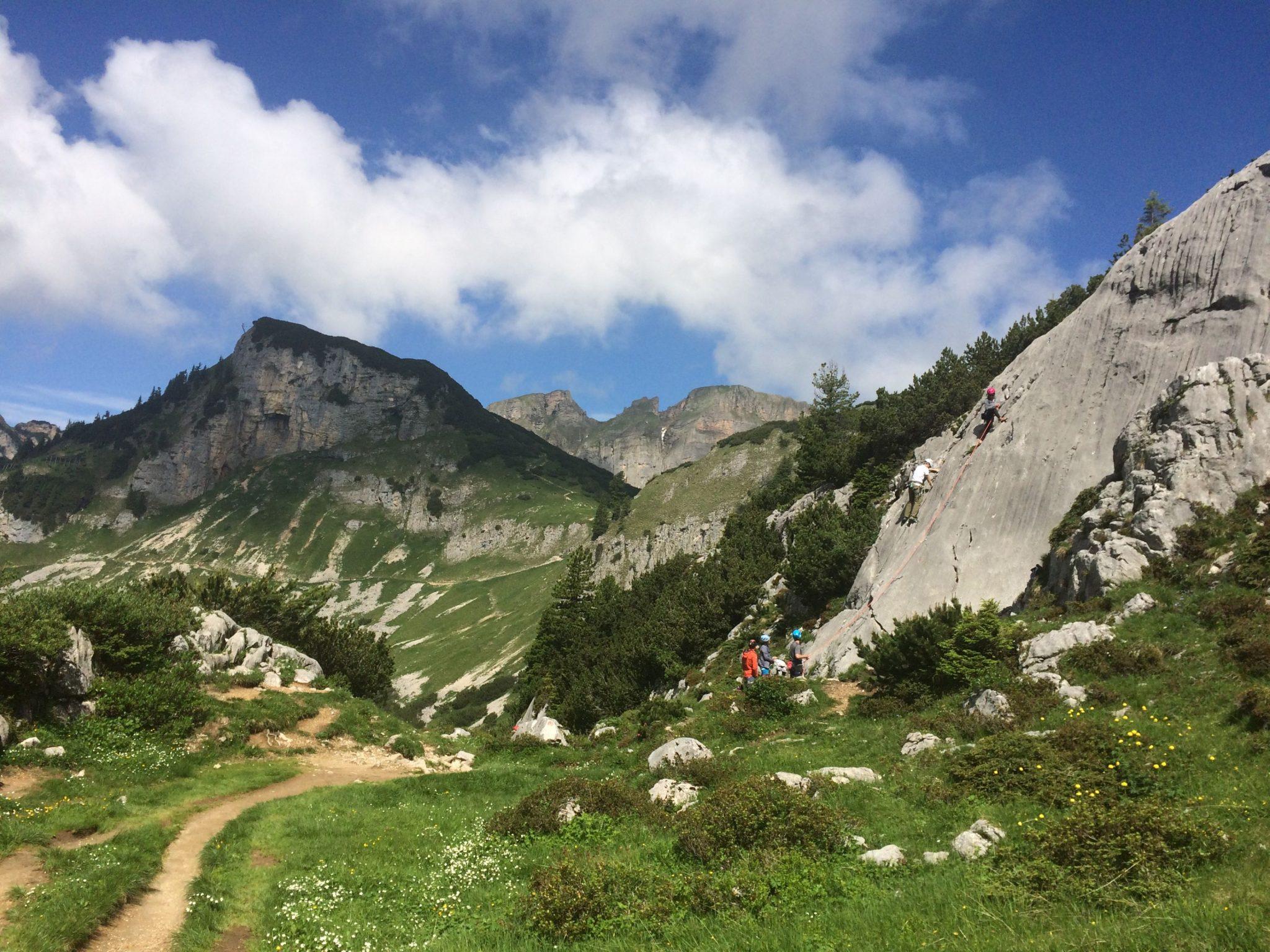 Familienfreundliche Gebiete inmitten des breiten Rofan-Almbodens | Climbers Paradise