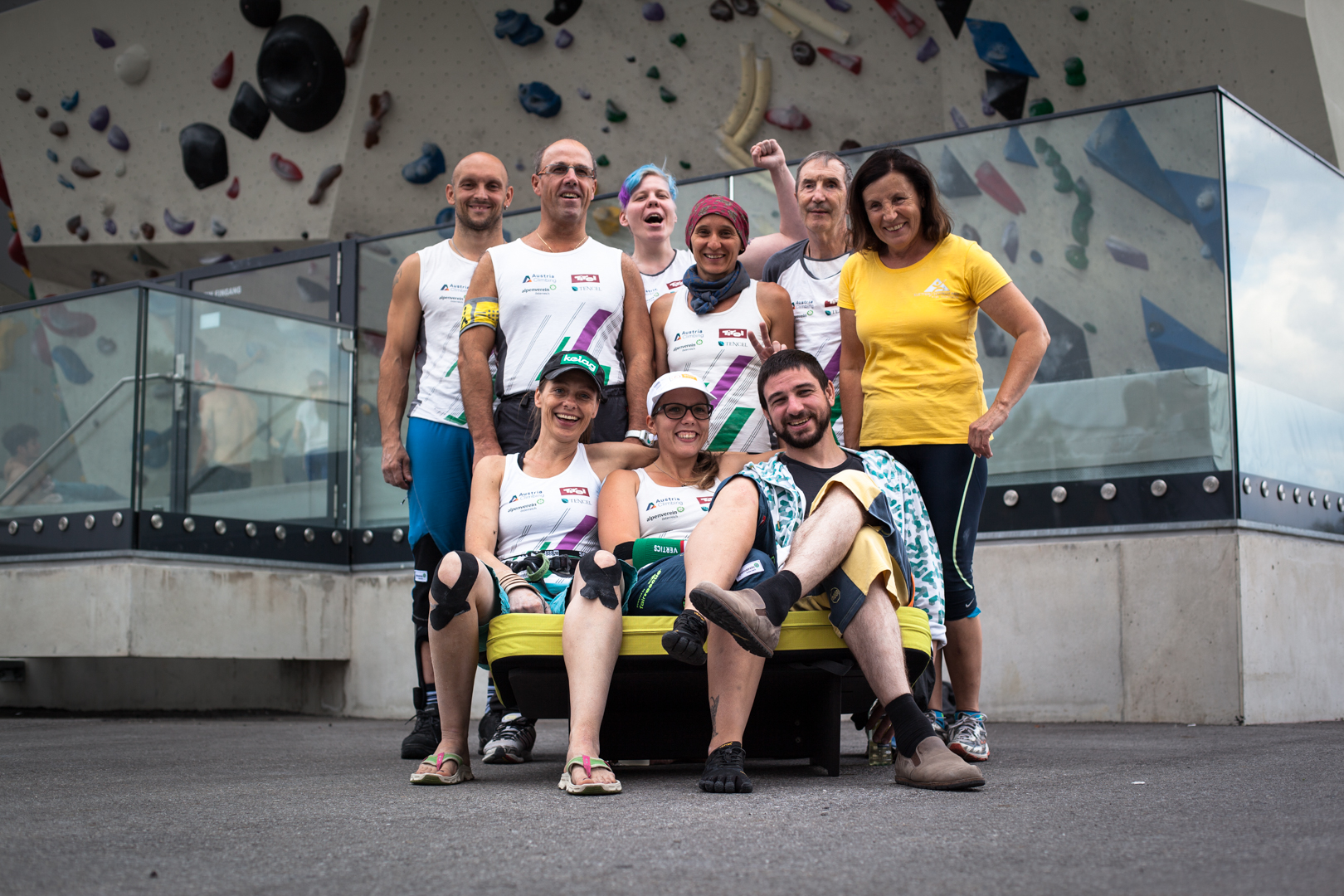 Team Paraclimbing Austria, Foto: Tobias Attenberger | Climbers Paradise