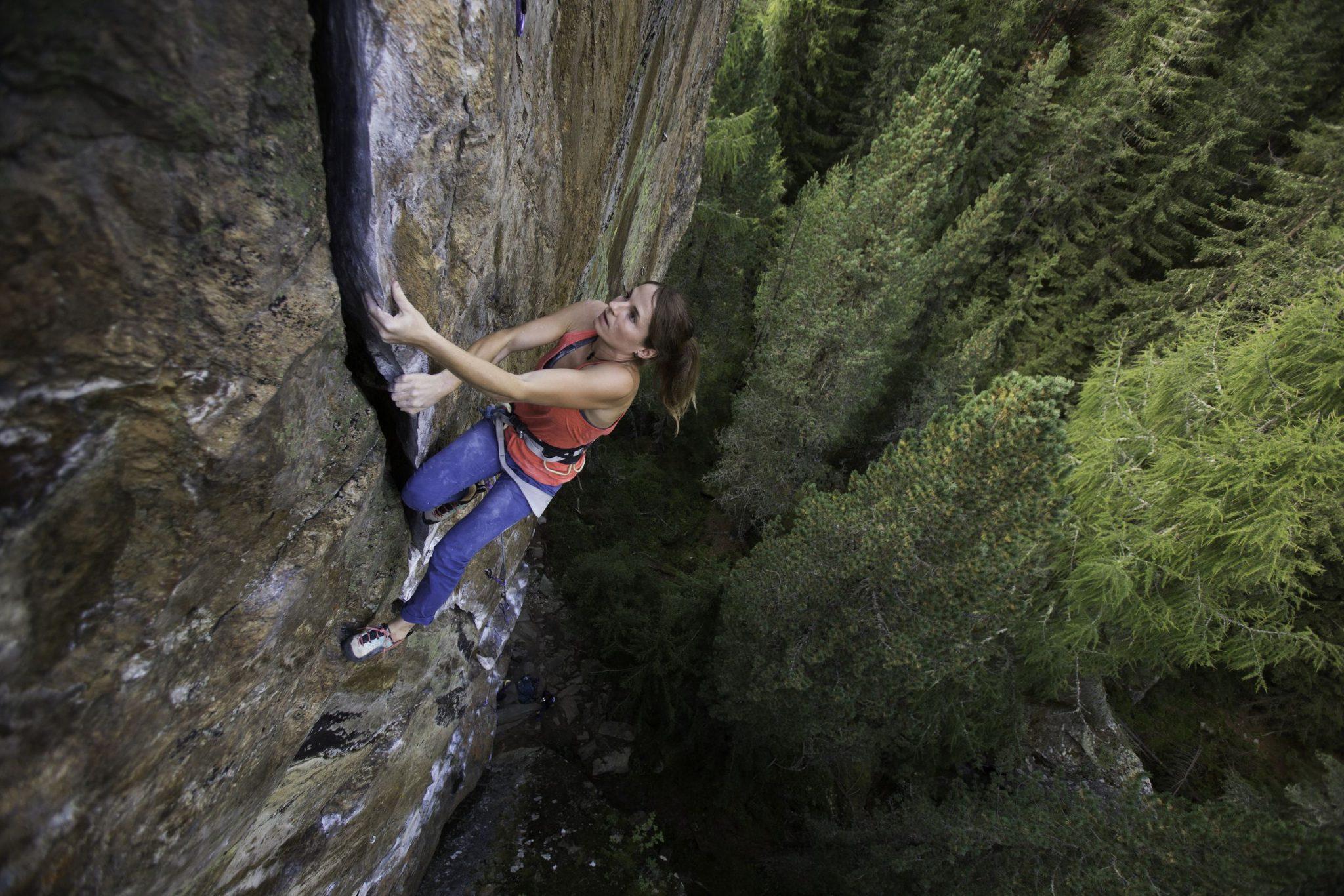 Die Route Le Miracle im Klettergarten Niederthai, Foto: Tirol Werbung, Johannes Mair | Climbers Paradise