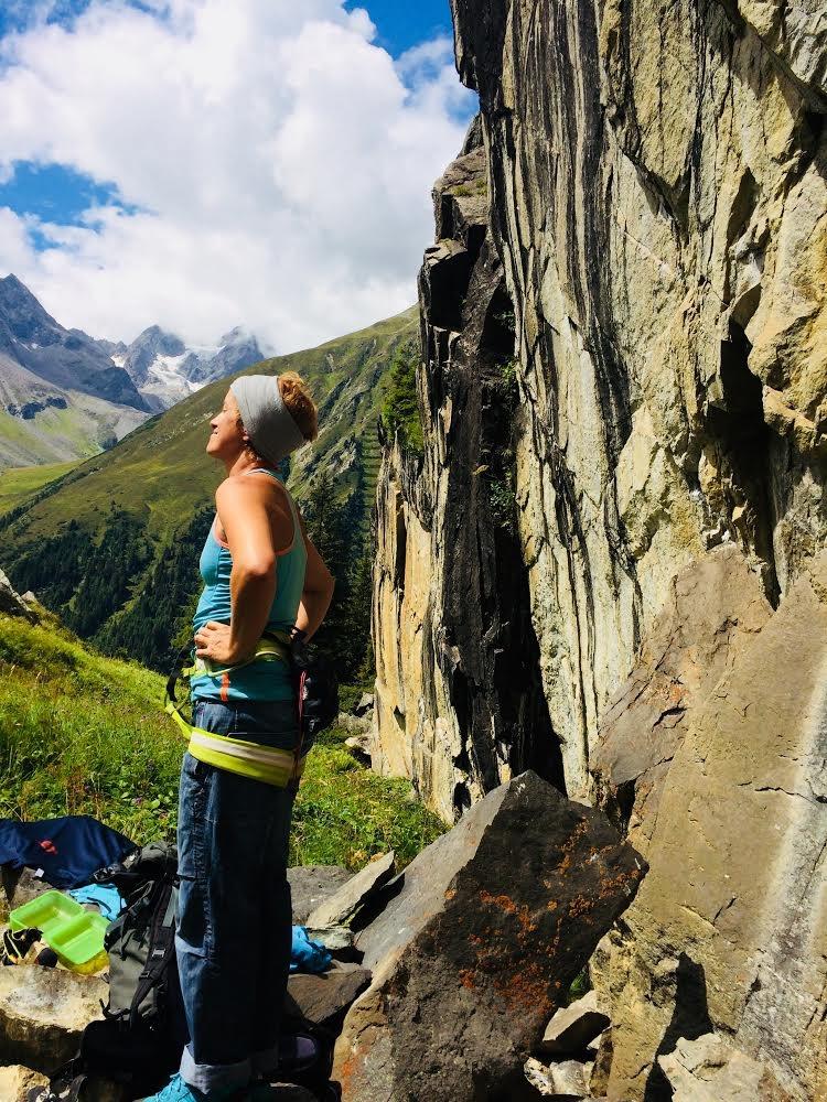 Autorin Susa genießt den Hexenkessel | Climbers Paradise