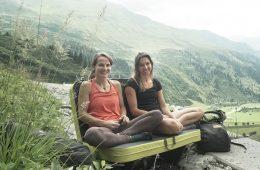 Barbara Zangerl und Martina Scheichl in der Region Arlberg, Foto: Tobias Attenberger | Climbers Paradise