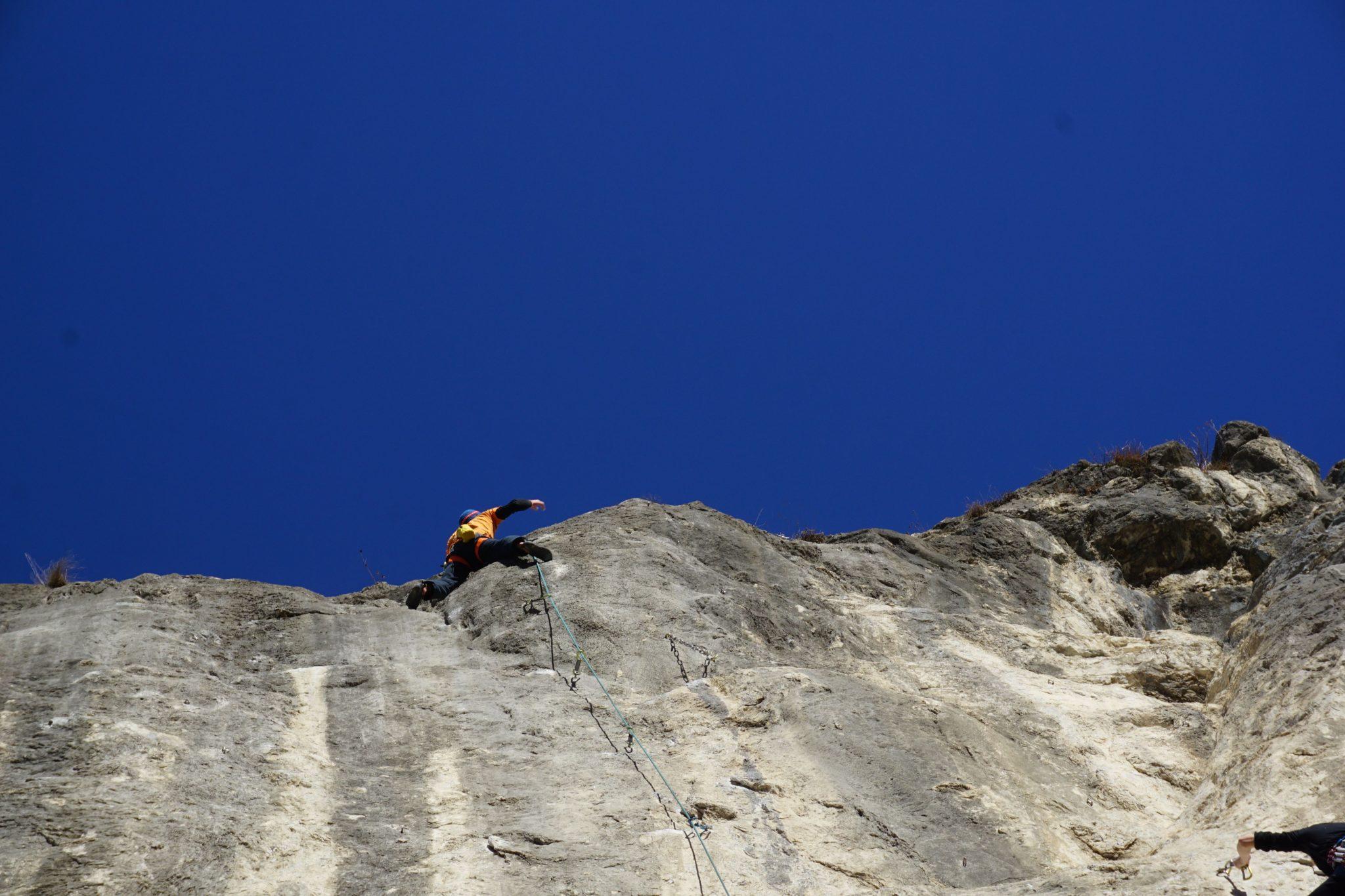 Perfekter Kalk an der Martinswand | Climbers Paradise